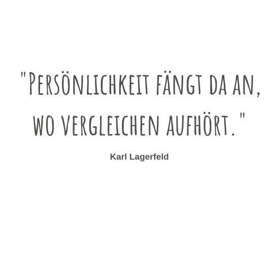 Karl Lagerfeld Persönlichkeitsentwicklung Coaching Selbstbewusstsein authentisch sein