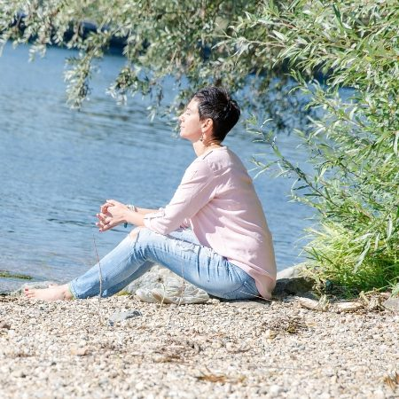 Kreativ-Pause Ruhe kommen